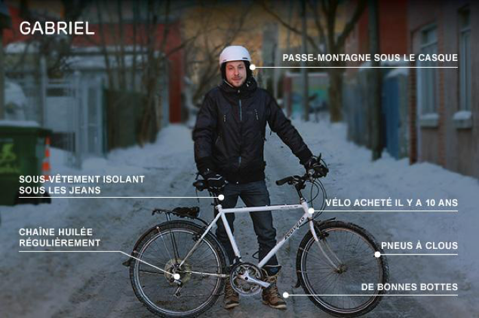 vélo hiver