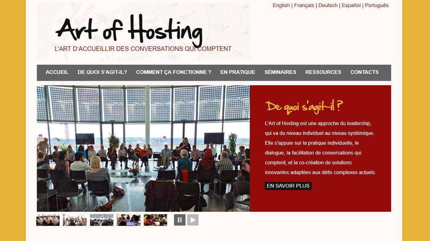 art of hosting