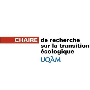 Logo Chaire de recherche sur la transition écologique UQAM